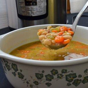 Instant Pot® Ham and Bean Soup