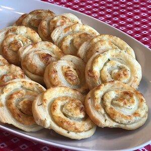 Easy 3-Ingredient Cheese Pinwheels