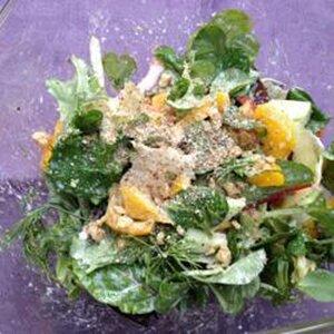Salad Dressing with Walnuts