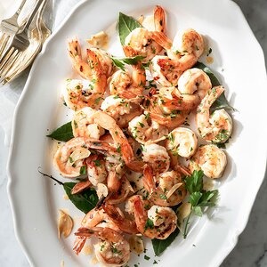 Garlic-Sautéed Shrimp