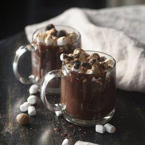 Baileys Almande Hot Cocoa (Dairy Free) With Nutmeg