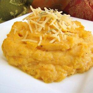 Rosemary Mashed Potatoes and Yams