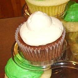 Double Chocolate-Irish Cream Cupcakes