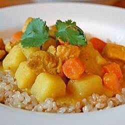Michelle's Coconut Chicken Curry