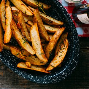 Grill-Fried Potatoes