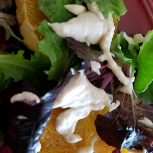 Orange Salad with Cinnamon Dressing