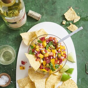 Light Avocado Mango Salsa