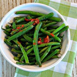 Asian-Inspired Green Beans