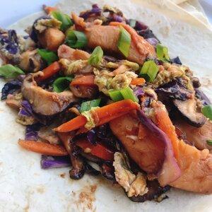 Moo Shu Chicken with Mandarin Pancakes