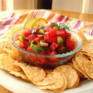 Watermelon Fire and Ice Salsa