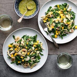 Chicken, Shrimp & Mango Salad