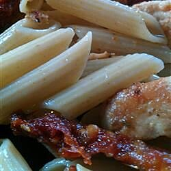 Pasta Chicken and Sun-Dried Tomatoes