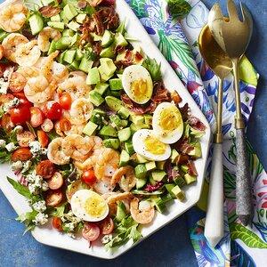 Shrimp Cobb Salad with Dijon Dressing