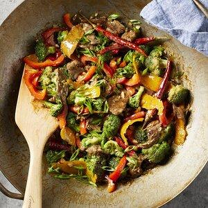 Spicy Orange Beef & Broccoli Stir-Fry