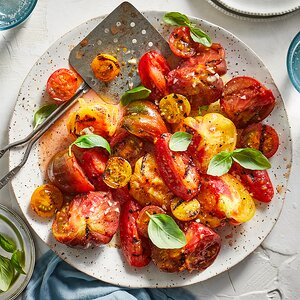 Marinated Grilled Tomatoes