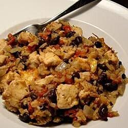 Chicken and Black Bean Casserole
