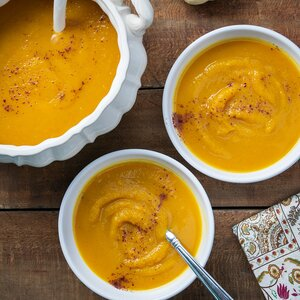 Persian-Style Butternut Squash Soup
