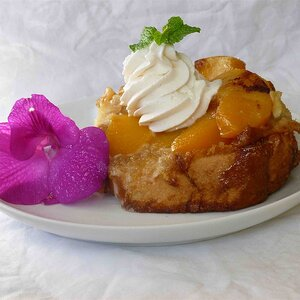Grandma's Peach French Toast