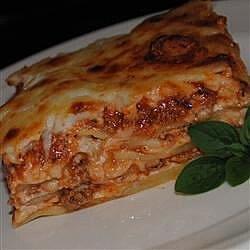 Kristy's Lasagna