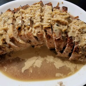 Pork Tenderloin with Dijon Marsala Sauce