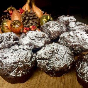 Pumpkin-Chocolate Muffins