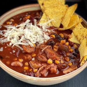 Instant Pot® Vegan Chili con Yaca