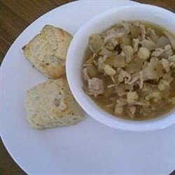 Slow Cooker Posole with Pork and Chicken