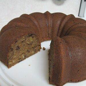 Breakfast Prune Spice Cake