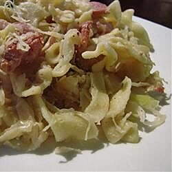 Sauerkraut, Bacon, and Pasta Casserole