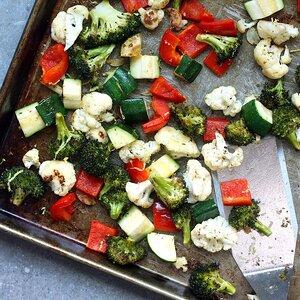 Lemon-Roasted Mixed Vegetables