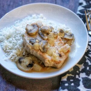 Pork Chops with Mushrooms and Onions