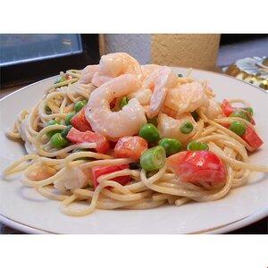 Spaghetti Shrimp Salad