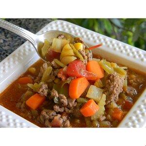 Saskatchewan City Steak Soup