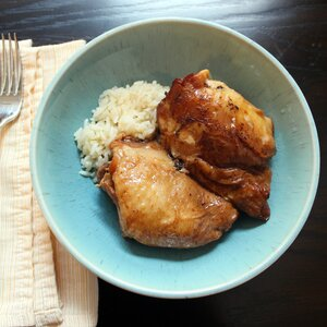 Slow Cooker Filipino Chicken Adobo