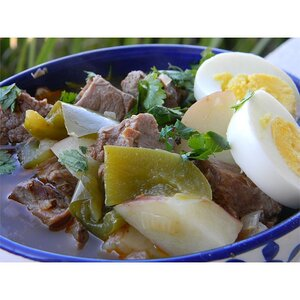 Ajiaco (Beef and Pepper Stew)