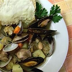 Portuguese Pork and Clams