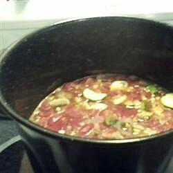Jul's Vegetable Tofu Soup