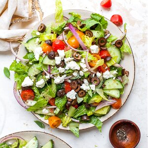 Greek Revival Salad
