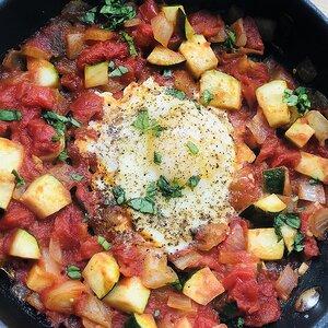 Shakshuka (Middle Eastern Breakfast Dish)