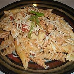 Brian's Chicken Sausage Pesto Pasta