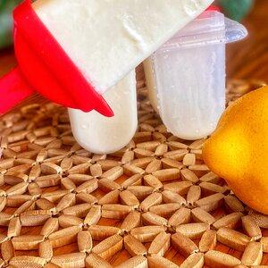 Creamy Lemonade Ice Pops