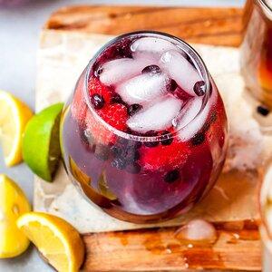 Berry Bubbly Vodka Soda