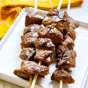 Sweet Grilled Steak Bites