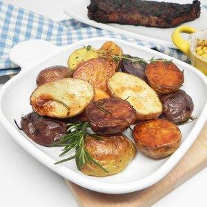 Garlic and Herb Roasted Baby Potatoes