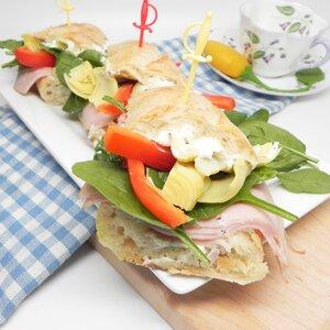 Make-Ahead Turkey Tea Sandwiches