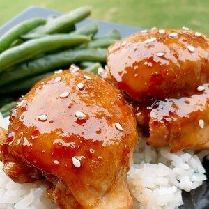Oven-Baked Teriyaki Chicken Thighs