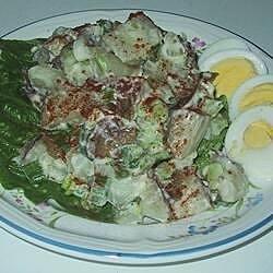 My Grandma's Anise Potato Salad