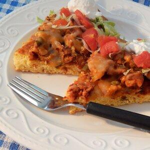 Barbecue Cornbread Pizza