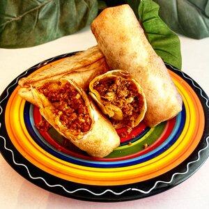Air Fryer Mini Breakfast Burritos