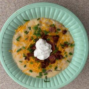 Brett's Slow Cooker Loaded Baked Potato Soup
